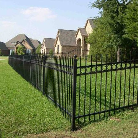 Iron Fences For Residential Amp Commercial In Dfw Rustic Fence