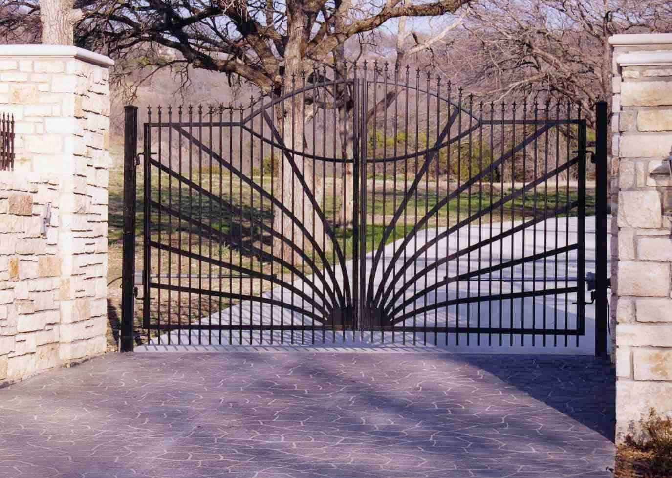 Iron Drive Gates