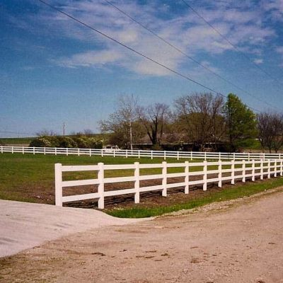 PVC Ranch Rail