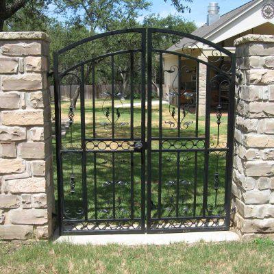Iron Walk Gates