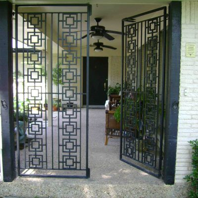 Iron Walk Gates