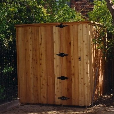 Wood Frames Gate